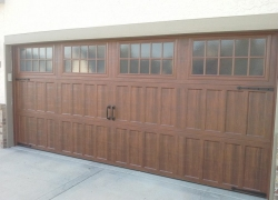Amarr 3 section door installed in Kansas City