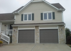 Amarr classic steel garage door installed