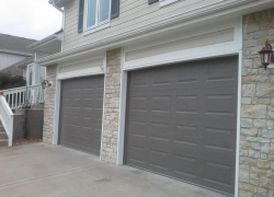 Amarr classic steel gray garage door