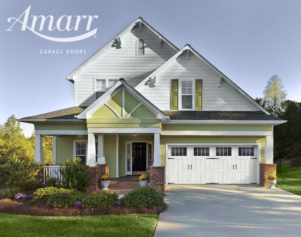 Amarr - Gorgeous new wide, white garage door