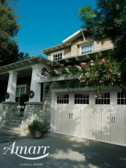 Armarr - Large two car garage door in a Tuscany style