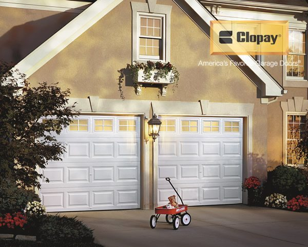 Clopay - New garage doors installed on a Residential home