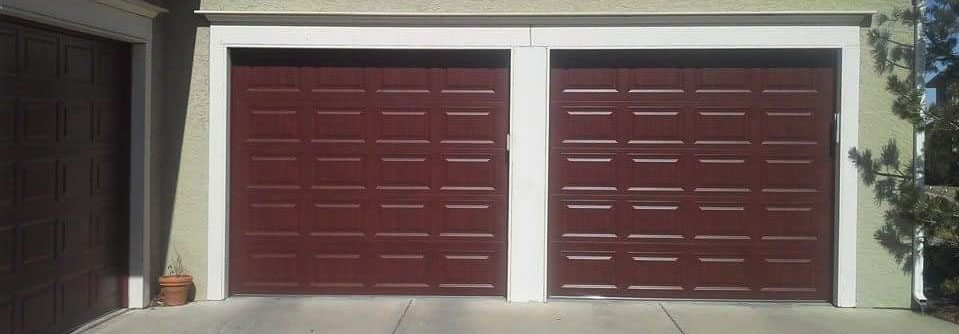 Custom Wood Garage Door Repair